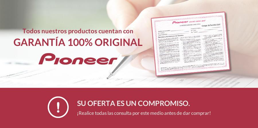 Garantía 100% Original Pioneer